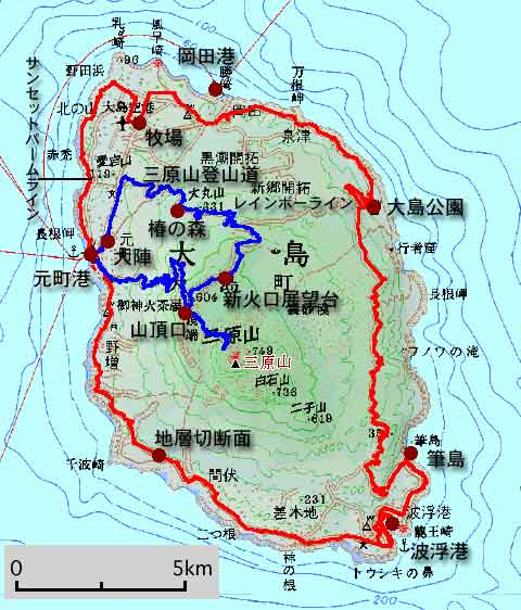 自転車の 自転車 地図 gps : 地図ベース:国土地理院20万分 ...