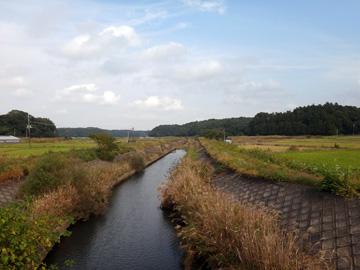 花見川から手賀沼へ --折り畳み...